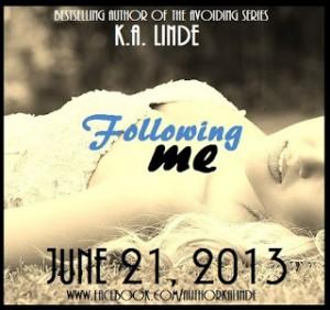 Following Me Blurb