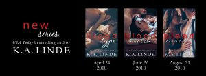 Blood Type Series Cover Reveal